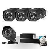 Best Systèmes de surveillance ZMODO - Zmodo 8canaux sPoE Caméra de vidéosurveillance HD 720P Review