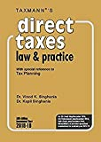 #8: Direct Taxes Law & Practice -With special reference to Tax Planning (59th Edition A.Y. 2018-19)