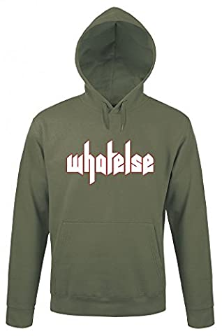 KsFreak Original whatelse Hoodie in Grün aus 80% Baumwolle, 20% Polyester Merchandise by yvolve, Größe:M