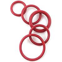 F-MINGNIAN-SPRING 5pcs 3//4  1  2  3  4  Silicon piatto guarnizione dellanello innesto rapido Anello di tenuta Guarnizione Rondella VMQ gomma piatto guarnizione dellanello