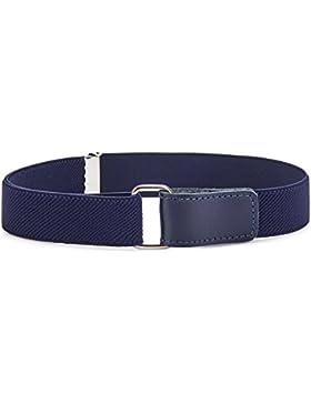 Ladeheid Cinturón Elástico para Niños 62 cm x 2,5 cm P15