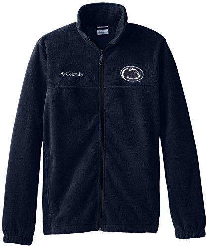 NCAA Herren Pullover Penn State Nittany Lions Collegiate Flanker II Fleece Full Zip, Herren, Collegiate Navy, Medium Penn-fleece-pullover
