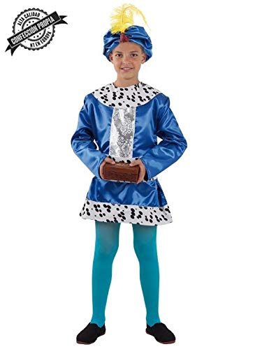 DISBACANAL Disfraz PAJE Baltasar Infantil – Único, 6 años