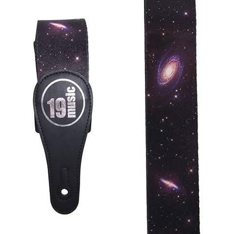 Deep Space planètes Galaxy Cosmos acoustique électrique Sangle de guitare réglable
