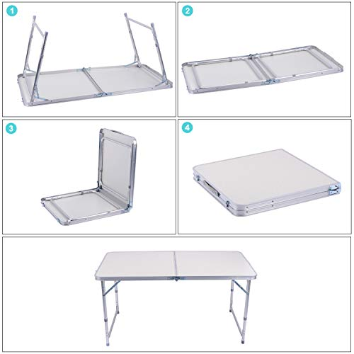 Zoom IMG-2 sunflo tavolo pieghevole campeggio 120cm