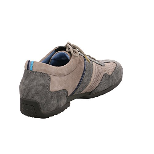 Camel Active Space 25, Sneakers Basses Homme Gris (Dk.Grey/Grey/Taupe 30)
