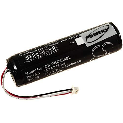 Akku für Babyphone Philips Avent SCD630, 3,7V, Li-Ion