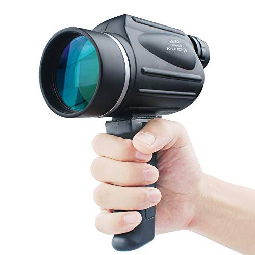 USCAMEL 13X50 Hochleistungs Monokular Fernrohr, Helles und Klares Sichtfeld, Einfach mit Einer Hand zu bedienen, Wasserdicht, Anti-Beschlag-Beschichtung, Optimal Geeignet für die Vogel