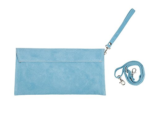 scarlet bijoux, Poschette giorno donna Blu (blu chiaro)
