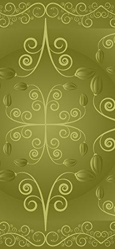 Id peelitstickit-002 60 x 130 cm, altezza moquette con motivo floreale, di alta qualità, carta da parati, in vinile, da parete