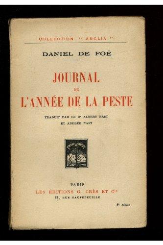 Journal de l'année de la peste
