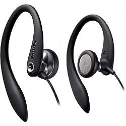 Philips SHS3300BK In-Ear Bügel-Kopfhörer (Tragekomfort, Stabilitätmit,Flex Soft Ohrbügel) schwarz