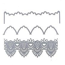 DIPOLA DIY Plantillas de Troquelado de Metal en Forma de Nube, para Repujado para Crear