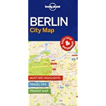 Lonely Planet Berlin City Map (Travel Guide)