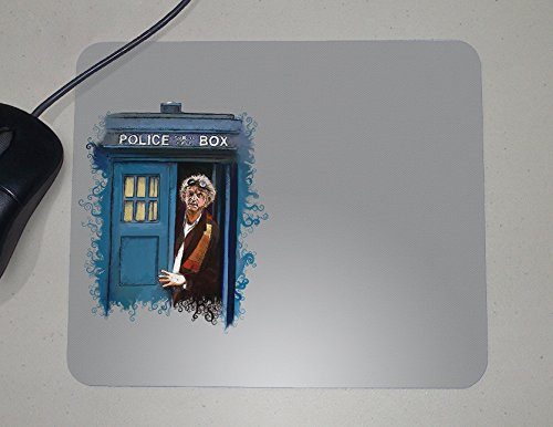 Dr. Who-Back to The Future-Tardis-Mouse Pad