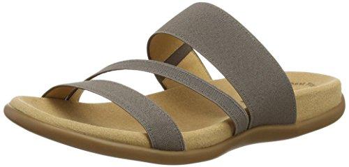 Gabor Shoes 43.702 Damen Pantoletten, Braun - Brown (Brown Elastic), 41 EU (7.5 UK)