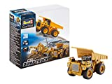 Revell Control 23495 RC Baufahrzeug Kipplaster ferngesteuertes Auto, gelb-orange, Länge: ca. 10 cm