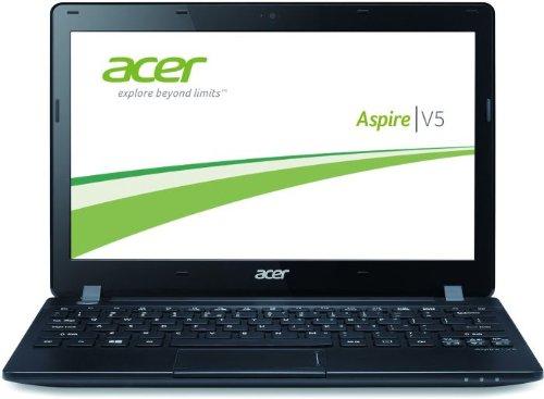 Acer Aspire V5-123-12102G50nkk 29,4 cm (11,6 Zoll) Notebook (AMD Phenom Dual Core E1-2100, 1GHz, 2GB RAM, 500GB HDD, AMD Radeon HD 8210, Win 8) schwarz (Acer Amd-bluetooth-laptops)