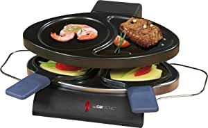 Clatronic RG 3198 Raclette-Grill inklusive 2 Pfännchen