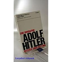Adolf Hitler Eine Biographie- Versuch einer Deutung- Knaur Nr. 141