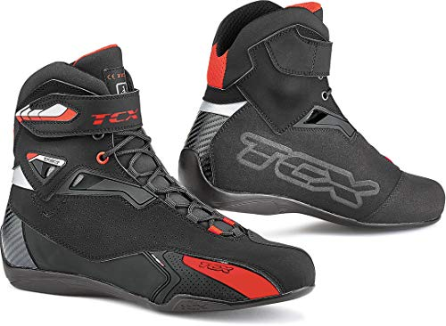 TCX Stivali Moto Rush Nero, Nero, 37