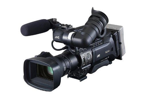 "JVC Camcorder 3 CMOS 1/3""16:9 Progressive Scan - QuickTime on HC SD Cards with SD Recording"