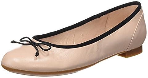 Clarks Damen Couture Bloom Slipper, Beige (Nude Pink Lea), 41 EU
