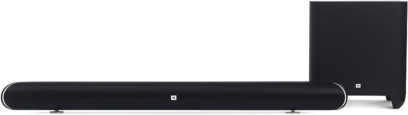 JBL Cinema SB450 4K Ultra-HD Wireless Sound Bar with Wireless Subwoofer (Black)