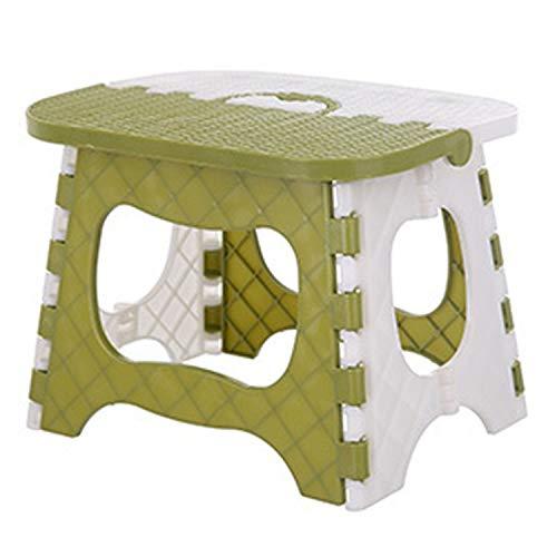 Heng Jia Klapphocker aus Kunststoff für zu Hause, Picknick, tragbar, Heimmöbel, Kindermöbel,...