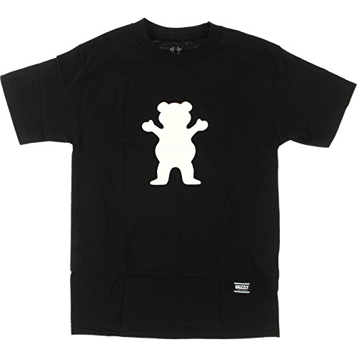 Grizzly Grip Tape OG Bear Schwarz X-Large T-Shirt