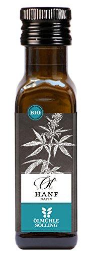 Hanföl von Ölmühle Solling vegan, vegetarisch 100ml - Bio