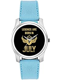 BigOwl Legends Are Born In July Birthday Gift For Him Fashion Watches For Girls - Awesome Gift For Daughter/Sister...