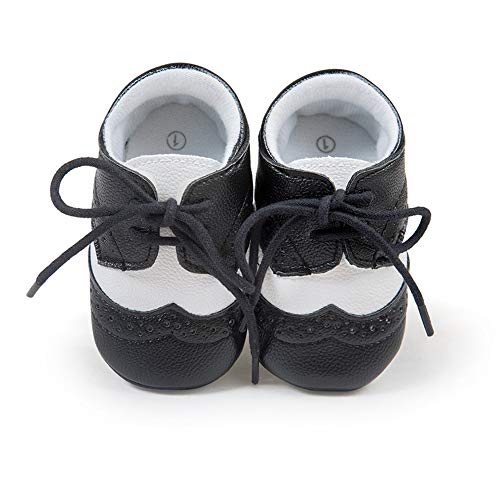ae7d9cba82534 JPJQ Scarpe Neonato Baby Girl Bambini Scarpe Bambina Bimba Sneakers  Stringate Morbide Nero 6-12