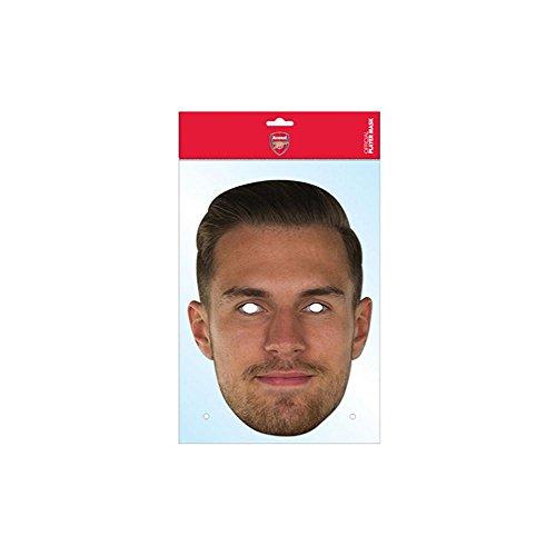 Aaron Ramsey Arsenal FC Mask, Mask-arade Face Card Mask, Character Fancy Dress