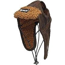 POPETPOP Sombrero de Aviator para Perro, Gorra para Mascotas, Disfraz de Cosplay Creativo para
