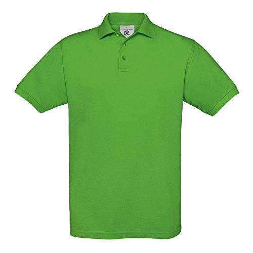 B&C - Piqué Poloshirt 'Safran' M,Real Green