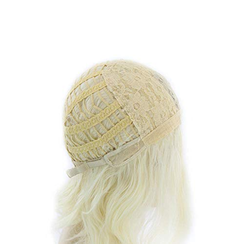 TGCYMYY Richtiges Spiel Ice and Fire Richtiges Spiel Dumb 70 cm Weave Silver Wig @ Light Gold