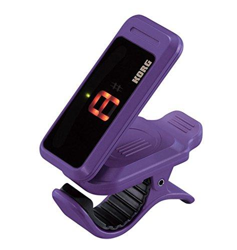 Korg Pitchclip violett | Pitch-Clip PC-1 Tuner Stimmgerät chromatisch universal