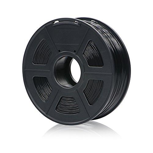 ANYCUBIC PLA+ 3D Drucker Filament, Toleranz beim Durchmesser liegt bei +/- 0,02mm, 1kg Spule, 1.75mm für 3D-Drucker und 3D-Stifte,Verschiedene Farben (Schwarz)
