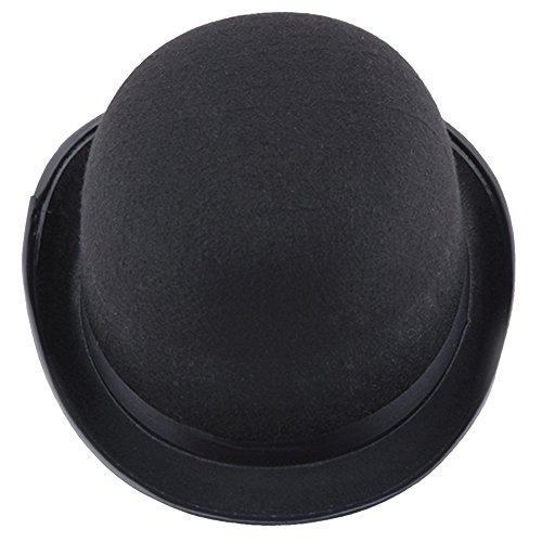 OHQ Sombrero Negro Sombrero Negro Sombrero De Magia De Halloween Sombrero MáGico Visera Sombrero Tejido