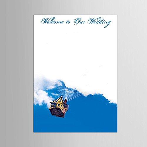 Impronta personalizzata pittura stampe su tela - il volo della casa (include 12 colori di inchiostro) , blank ,
