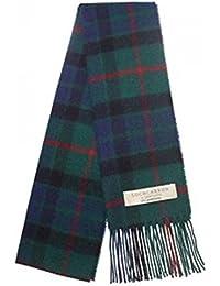 100% Lambswool Gunn Modern Tartan Clan Scarf & Gift Wrap - Made in Scotland by Lochcarron