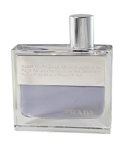 Cologne Spray Refill (Prada Pour Homme / men, Eau de Toilette , Vaporisateur / Spray 100 ml Refill für Deluxe-Flakon, 1er Pack (1 x 100 ml))