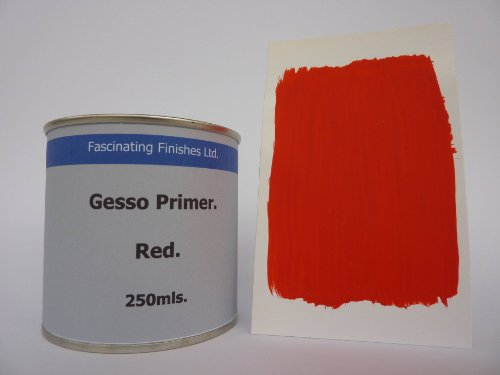 1-x-250ml-red-gesso-primer-for-canvas-wood-card-for-oil-acrylic-paints-jesso