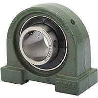 Taidda Rodamiento Base roscado, UCPA205-16 Rodamiento de Bloque de Almohada de canalización de Bola de canalización de Bola de Ruido de Alta precisión para mecánica