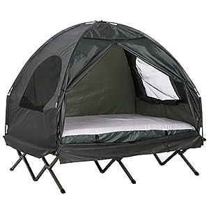 tenda letto campeggio