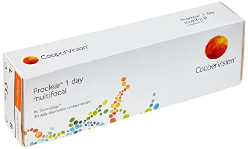 Proclear 1day Multifocal Tageslinsen weich, 30 Stück / BC 8.70 mm / DIA 14.20 / ADD MED / 4.25 Dioptrien
