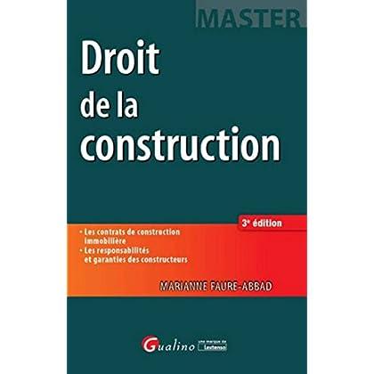 Droit de la construction, 3ème Ed.