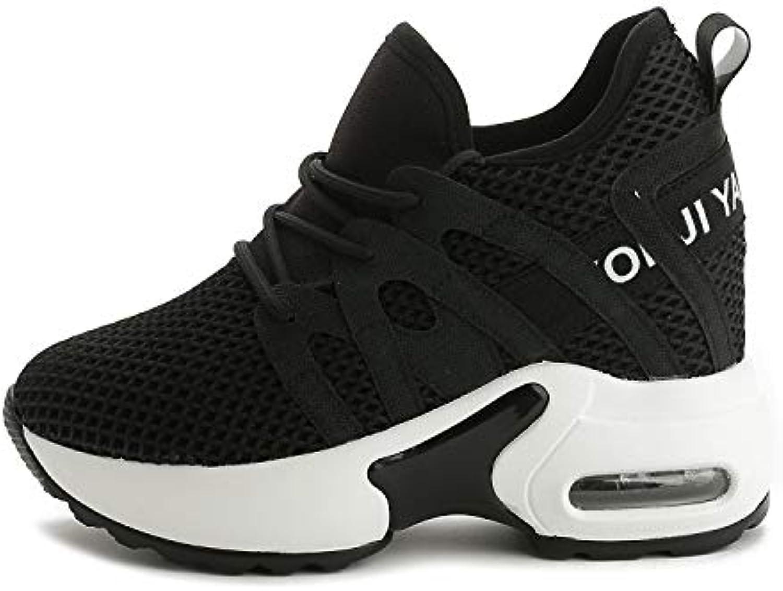 YAN scarpe da ginnastica da da da Donna Mesh Spring novità Scarpe Sportive Scarpe Stringate rossoonde Scarpe da Ginnastica Scarpe... | Prestazione eccellente  498cb7