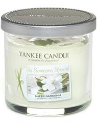 Yankee candle 1230410E Bougie en pot Parfum senteur Vineyard en jarre Violet